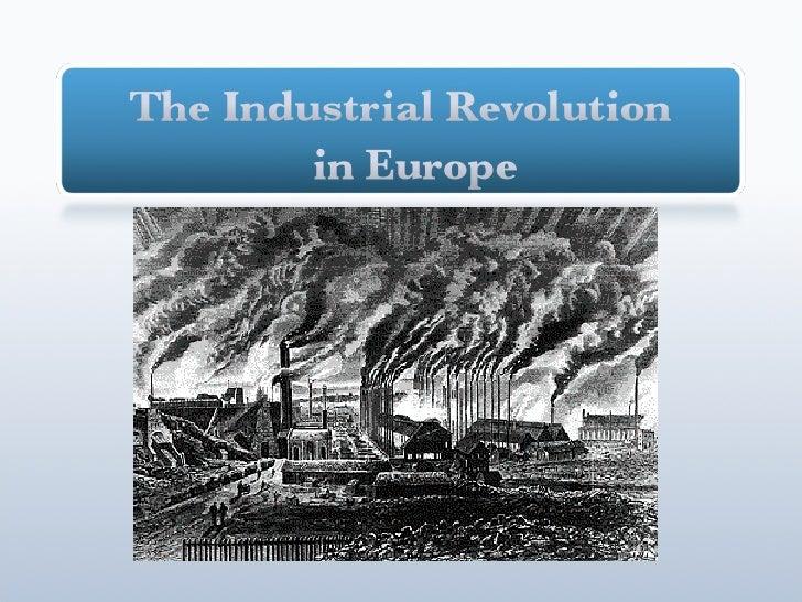 Start of Industrial Revolution