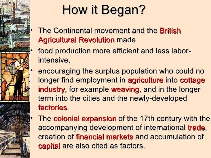 Industrial Revolution In Britain Essay
