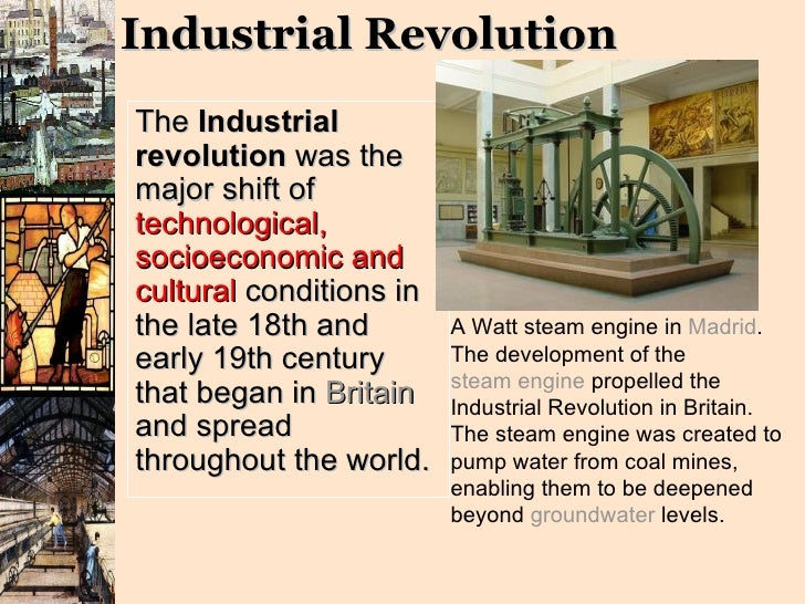 The Impact Of The Steam Engine On British Industrialization