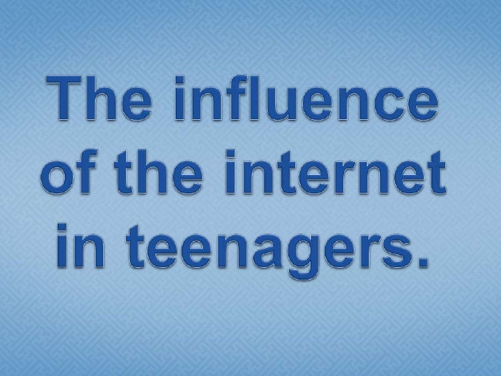 Influence of the Internet?