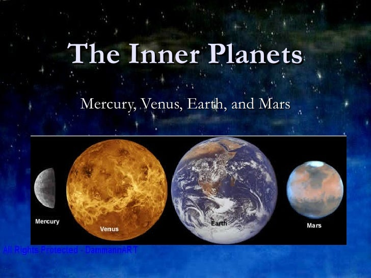 chart showing inner planets planet - photo #18