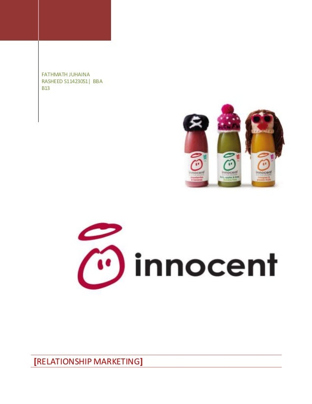 innocent drinks case study Start studying innocent case study learn vocabulary, terms, and more with flashcards, games, and other study tools  with coke buying the innocent drinks, the .