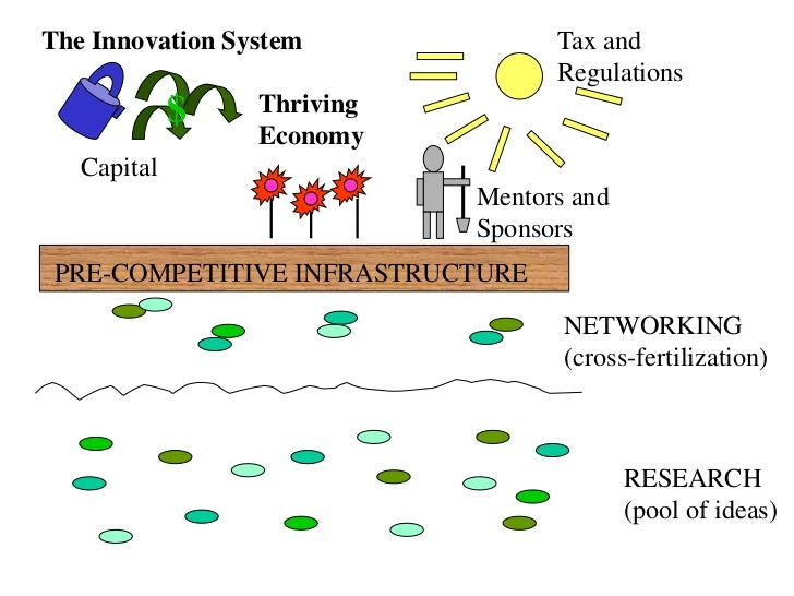 $<br />Tax and Regulations<br />The Innovation System<br />Thriving<br />Economy<br />Capital<br />Mentors and<br />Sponso...
