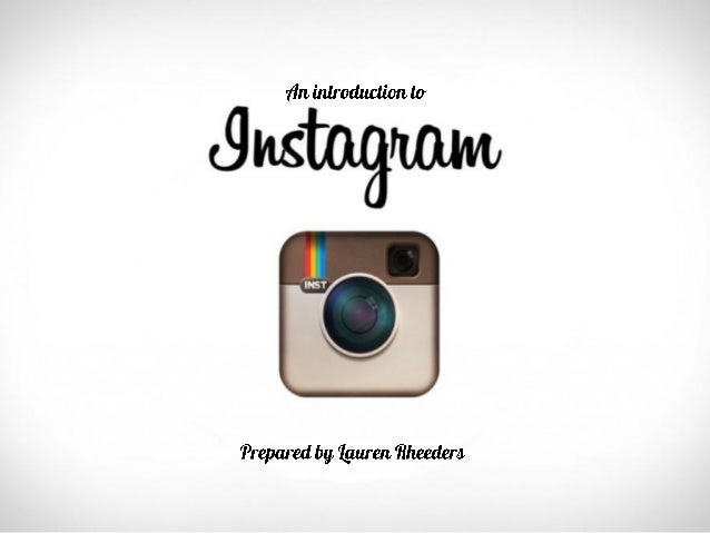 The ins and outs of Instagram!