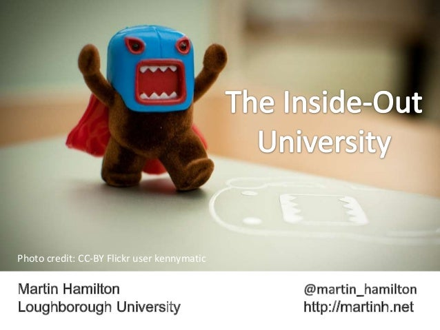 The Inside Out University: Crowdsourcing a Jisc Innovation Strategy