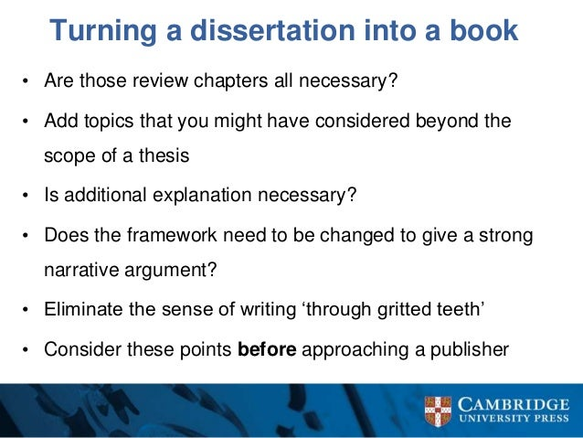 Writing Dissertation Prospectus