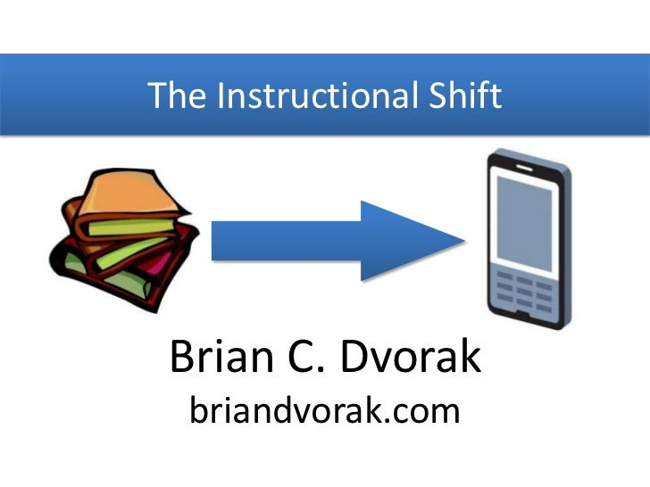 The instructional shift