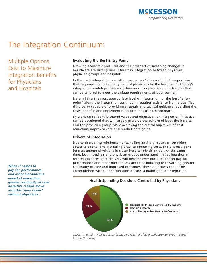 The Integration Continuum:Multiple Options              Evaluating the Best Entry Point                              Growi...