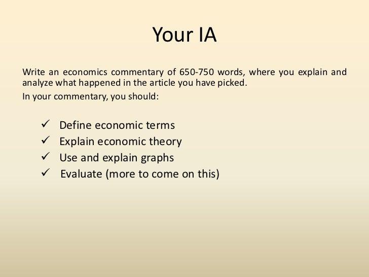 evaluation economics essay Economics extended essay evaluation conclusion for research paper.