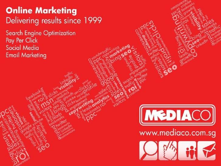 The Internet Show 2010 Singapore - Online Marketing Presentation