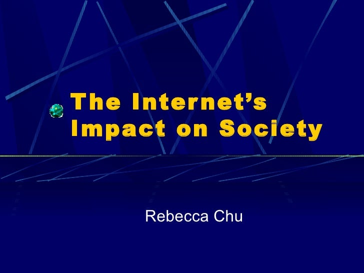 impact of the internet on america s The impact of the internet on globalization march 31, 2015 by: eleanor mckenzie share share on facebook globalization is a contemporary buzzword for a theory that is frequently debated in the media, and in political and academic circles one definition of the term is it represents the global domination of western cultural and economic.