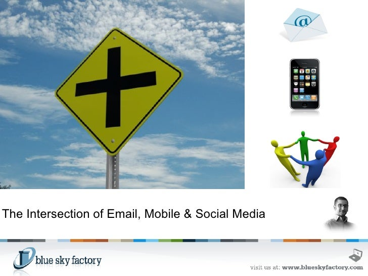 The Intersection of Email, Mobile & Social Media
