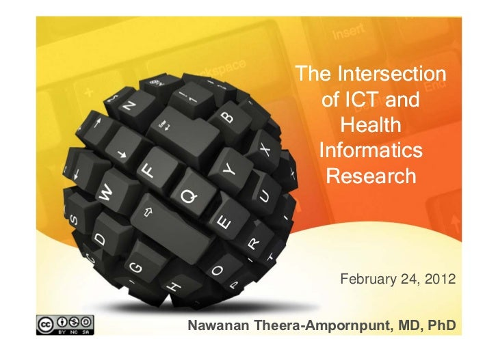 The Intersection               of ICT and                  Health               Informatics                Research       ...