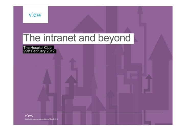 The intranet and beyond business breakfast