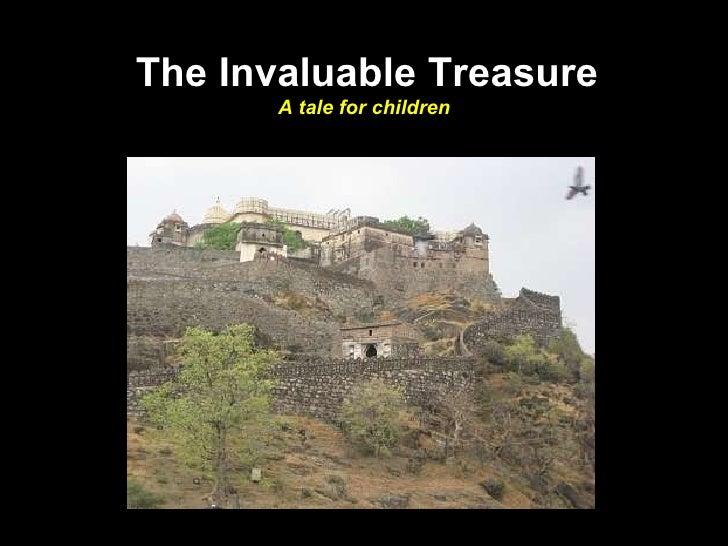 The Invaluable Treasure A tale for children