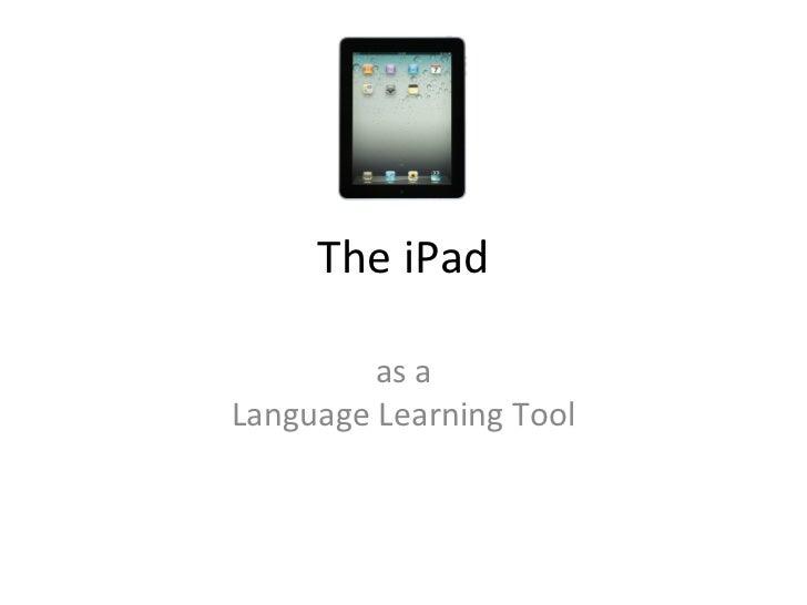 The i pad