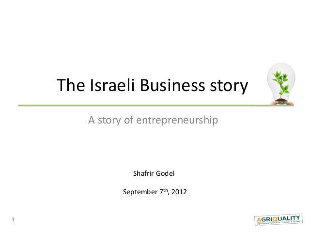 The israeli agro business story and india