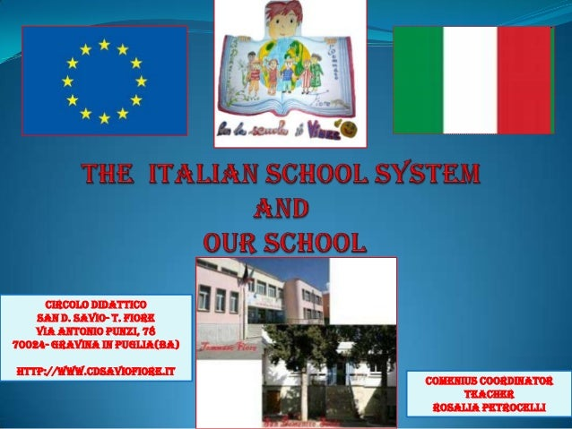The Italian school system_Lia_Petrocelli