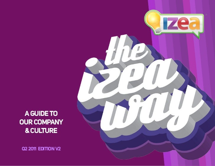 A GUIDE TOOUR COMPANY & CULTURE Q2 2010 EDITION