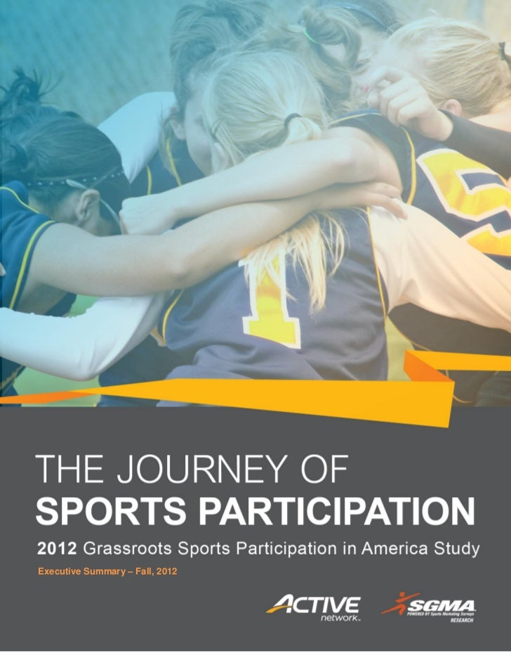 The journey of sports participation in america