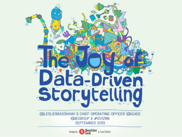 The Joy of Data Driven Storytelling