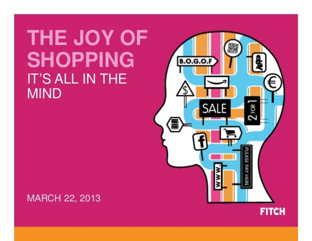 THE JOY OFSHOPPINGIT'S ALL IN THEMINDMARCH 22, 2013