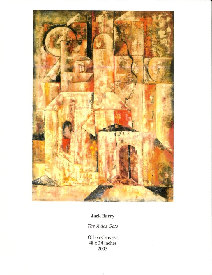 The Judas Gate by Jack Barry, Courtesy of Chisholm Gallery