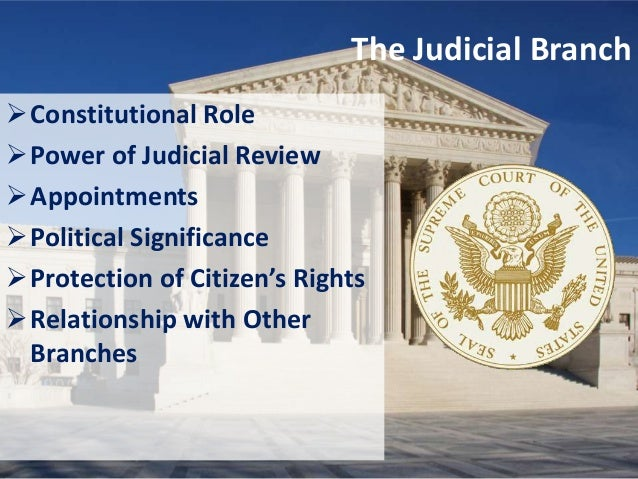 the power of judicial review of the supreme court in the united states