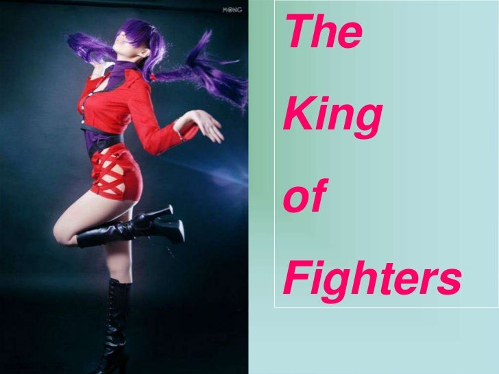 The King of Fighters Shermie Cosplay