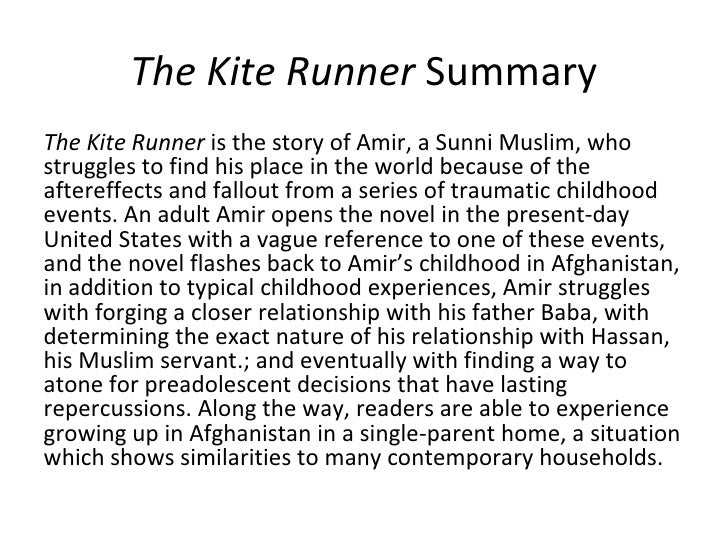 kite runner essay copy Critical essay #1 the kite runner is the story of strained family relationships between a father and a son, and between two brothers.