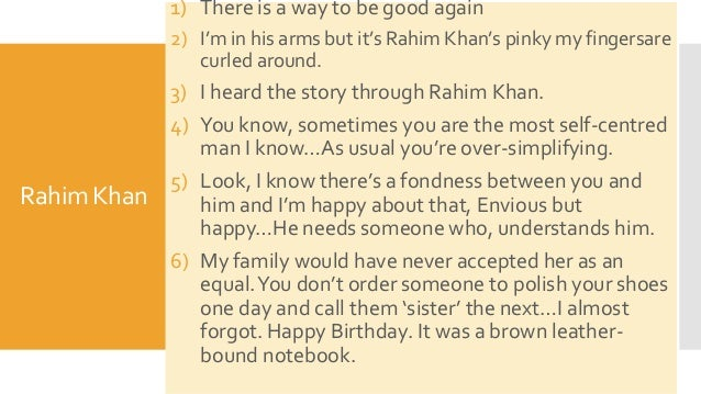 Kite Runner Essay Topics