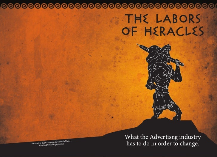 THE LABORS                                                   OF HERACLES                                                  ...