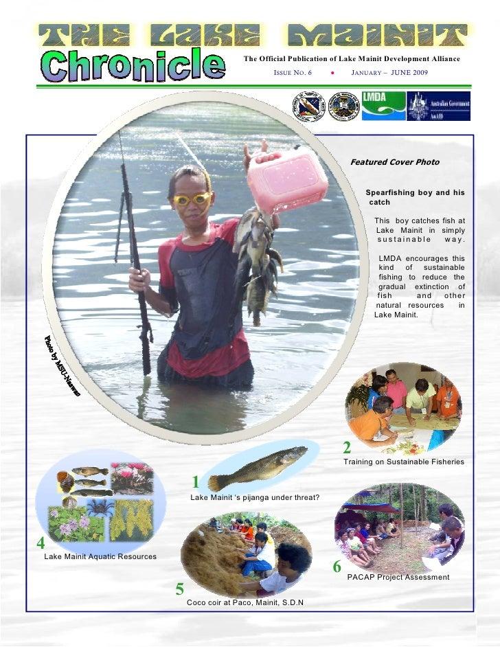 The Official Publication of Lake Mainit Development Alliance                                                             I...
