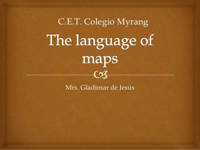 Mrs. Gladimar de Jesús C.E.T. Colegio Myrang