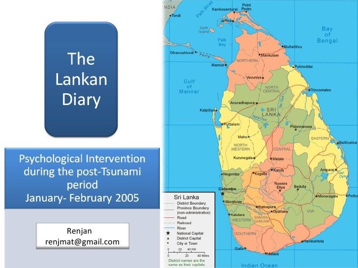 The Lankan Diary