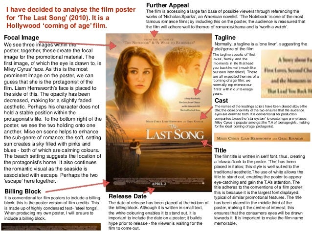 Essay film posters