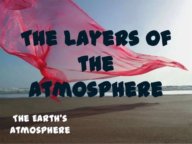 The Layers of      the  AtmosphereThe Earth'sAtmosphere