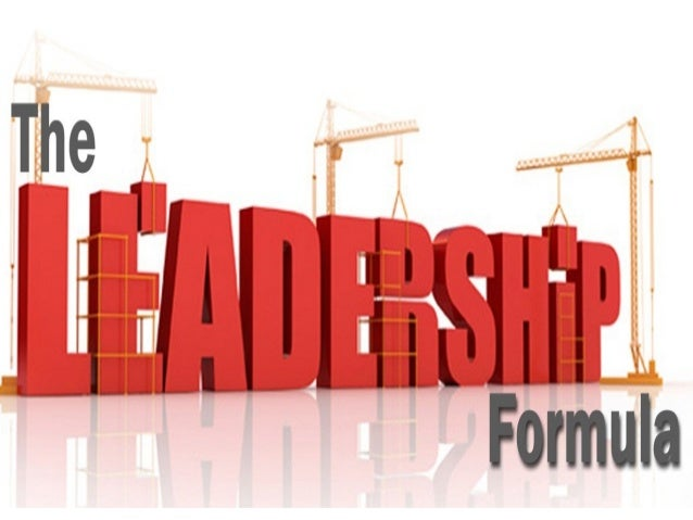The leadership formula - a foolproof, path breaking formula for success as a leader. This workshop will transform your life and career.