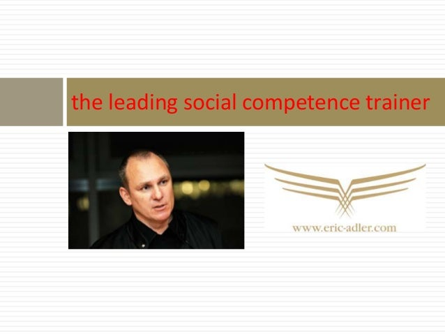 the leading social competence trainer