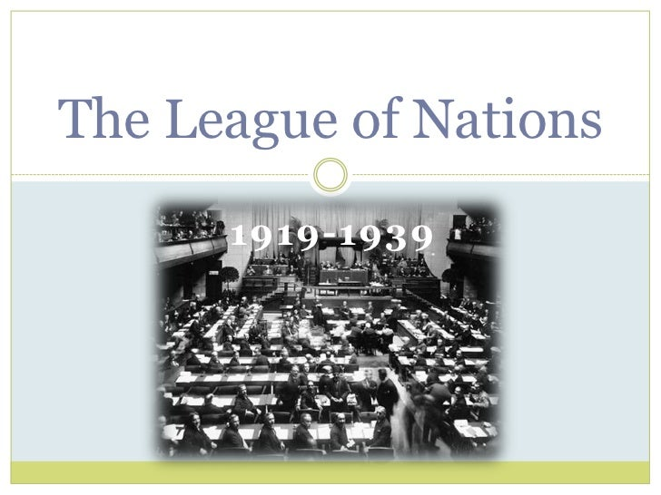 the league of nations essay