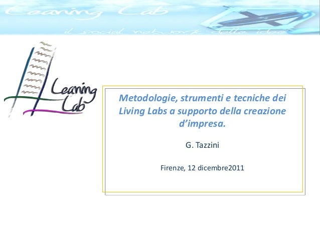 The leaning lab creare reti d'impresa firenze