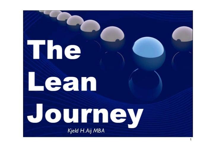 The Lean Journey   K.H.Aij Mba