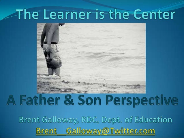 The learner is the center   2014