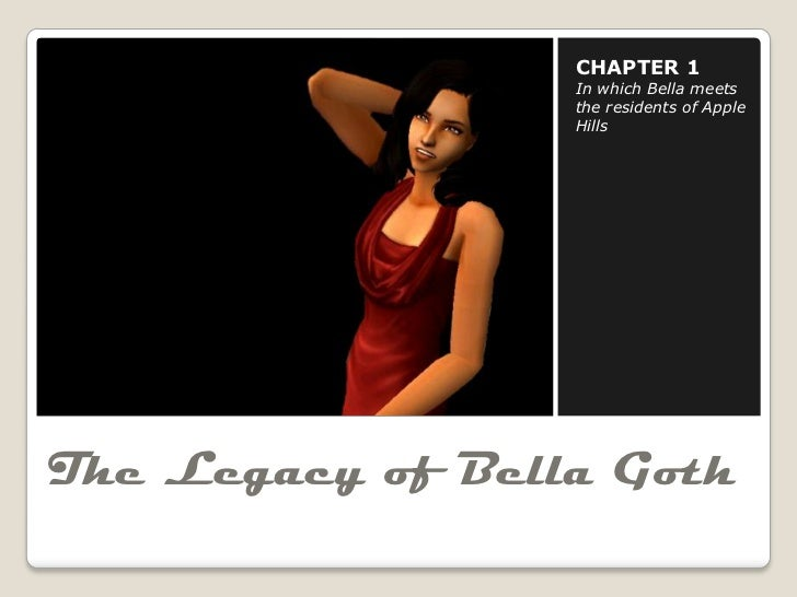 CHAPTER 1                  In which Bella meets                  the residents of Apple                  HillsThe Legacy o...