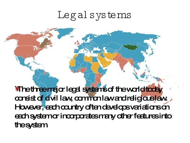 the legal system If a legal system is to dispense justice, it must be just how do you create that in the courts.