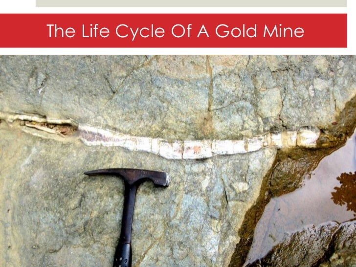 The life Cycle Of A Gold Mine
