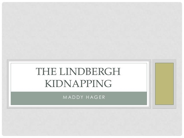 lindbergh kidnapping research papers