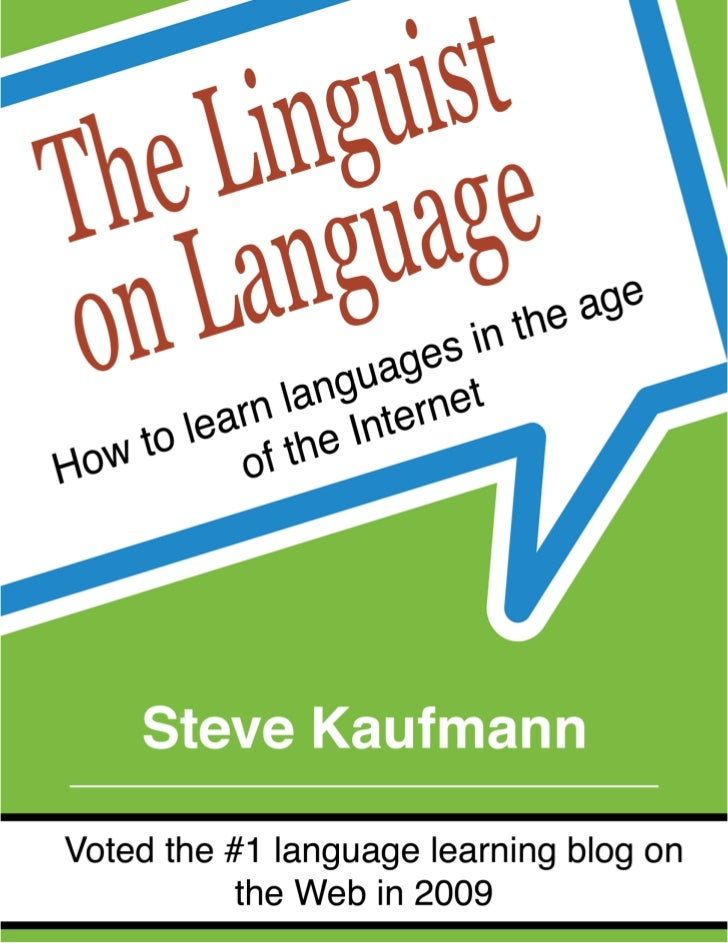 The Linguist Blog Book