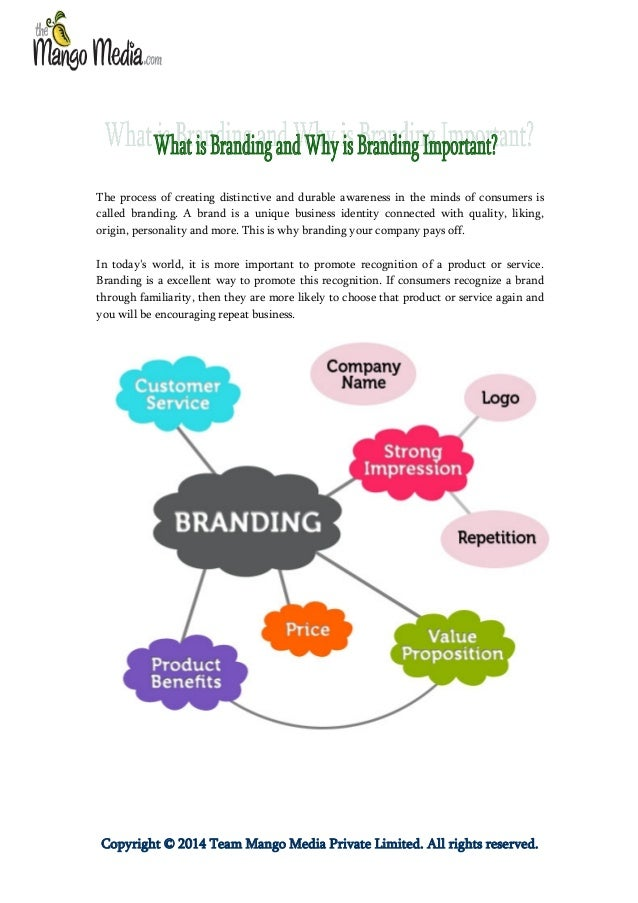 The process of creating distinctive and durable awareness in the minds of consumers is called branding. A brand is a uniqu...