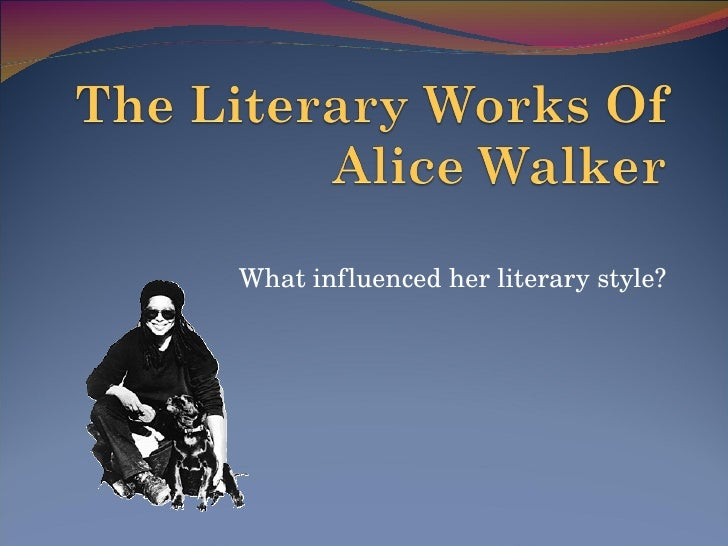 The Literary Works Of Alice Walkerpdf
